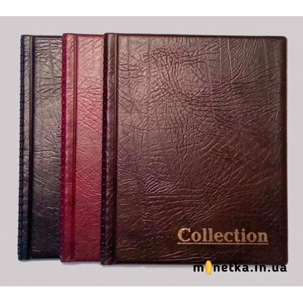 """Альбом для монет """"Комби"""" на 250 ячеек, (175 х 215 мм)"""