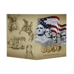 Альбом для для монет США 1 доллар Президенты и Сакагавея