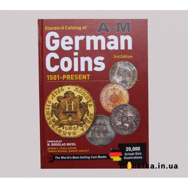 Монеты Германии 1501-2011, Краузе, т1 + т2, 2011