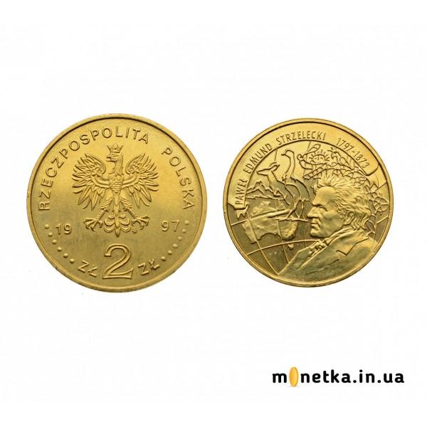 Польша 2 злотых 1997, Павел Эдмунд Стшелецкий