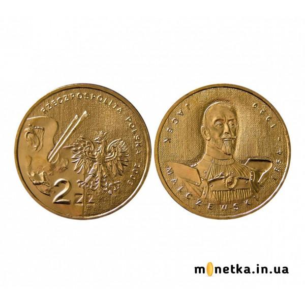 Польша 2 злотых 2003, Художники Польши 19-20 века - Яцек Мальчевский