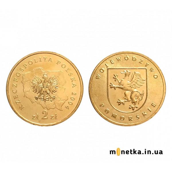Польша 2 злотых 2004, Поморское воеводство