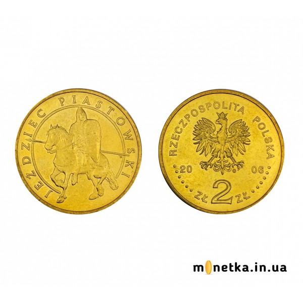 Польша 2 злотых 2006, Пястовский всадник