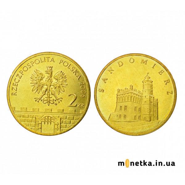 Польша 2 злотых 2006, Сандомир
