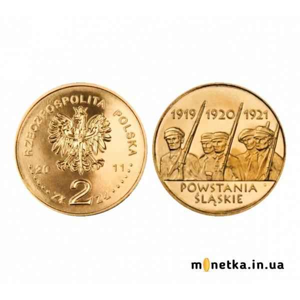 Польша 2 злотых 2011, Силезские восстания