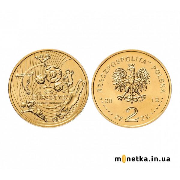 Польша 2 злотых 2012, Чемпионат Европы по футболу 2012