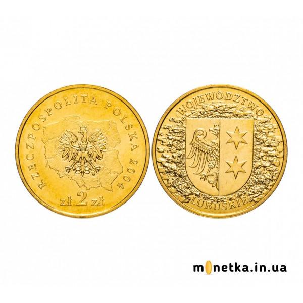 Польша 2 злотых 2004, Любушское воеводство
