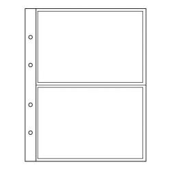 Лист формата Optima (Оптима) под 2 боны лист для бон 5 штук