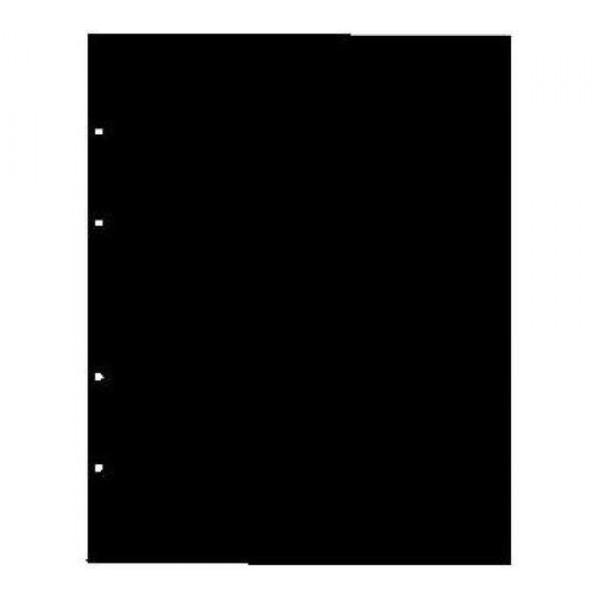 Лист вертикальный промежуточный черный 200х250мм формат Optima Оптима разделитель